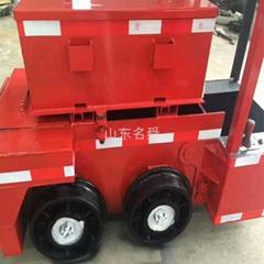 山东名舜直销蓄电池电机车 小型电频车
