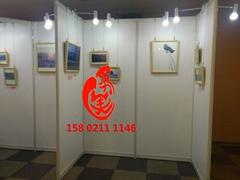 廠家銷售畫展挂畫展示使用的展板架白色1X2.5米