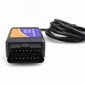 ELM327 USB Interface OBDII OBD2 Diagnostic Auto Car Scanner Tool Cable V1.5 ep 4
