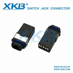 Factory direct 3.5 headphone jack 3.5 headphone audio socket   patch type