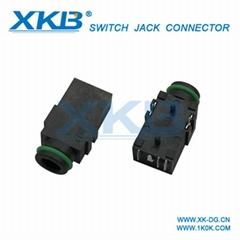 Professional sales 3.5MM headphone jack waterproof headphone   jack