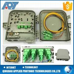 8 port FTTH outdoor fiber optic