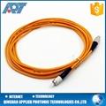 Single mode simplex or duplex fiber optic cable APC fiber optic patch cord 1