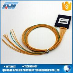 1x8 fiber optical plc splitter ABS