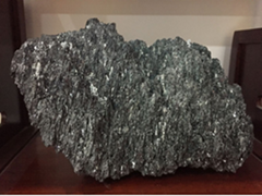 Green Silicon carbide(SIC) chunk with the high temperature resistance furnace sm
