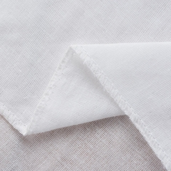 2 layer soft cotton plain muslin gauze for baby blanket and bib