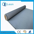 0.4 thickness grey one side silicon rubber coated fiberglass fabric  1