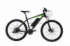 27.5'' 350W 48V Bafang Rear Motor Electric Bike