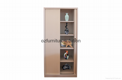 Double Tambour Door Steel Cupboard for office use