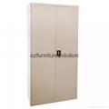 Double Tambour Door Steel Cupboard for