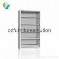 Simple Design Steel Bookcase for storage