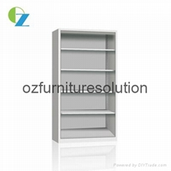Simple Design Steel Bookcase for storage in any classroom
