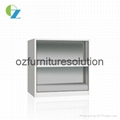Adjustable Shelf Steel Bookcase for storage in any classroom 1