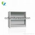 Adjustable Shelf Steel Bookcase for