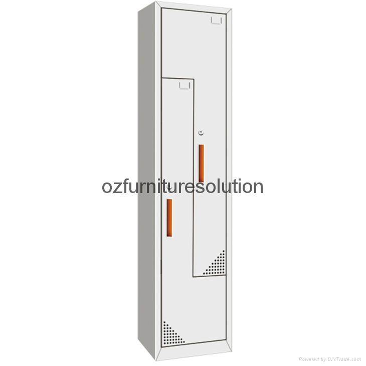 Z Shape steel locker 1