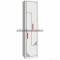 Z Shape steel locker