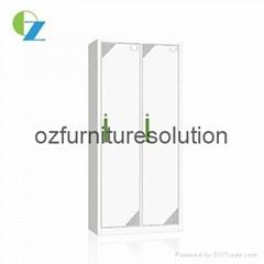 2 door steel locker