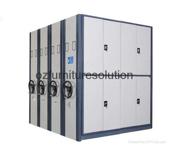 2016 Hot Sale Steel Durable Archives Movable Files Mass Shelf 1