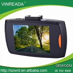 "Hot Selling G30 2.4"" Front View Camera Dash Cam Car DVR Black Box"