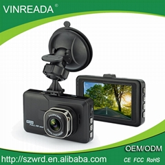 3.0 Inch Front View Car Dash Cam 1080P Full HD Car Camera Video Vehicle Recorder