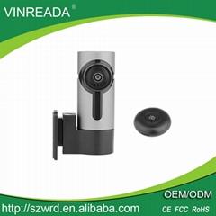 360 Degrees Full View Mini Hidden Camera WiFi Car DVR Mini Dashcam Support 128GB