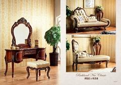 歐式沙發實木雕花傢具