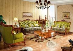 沙发实木雕花家具
