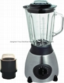 Ice crush 2 in 1 glass jar blender with