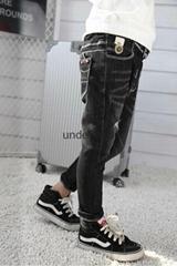 Slim Ripped Jeans For Boys Fashion Denim Pants Exporter