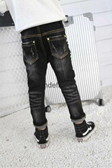 Skinny Spring Autumn Boys Jeans Children Trousers Manufacture