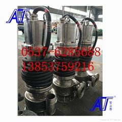 WQ防爆排污泵安全稳定易使用