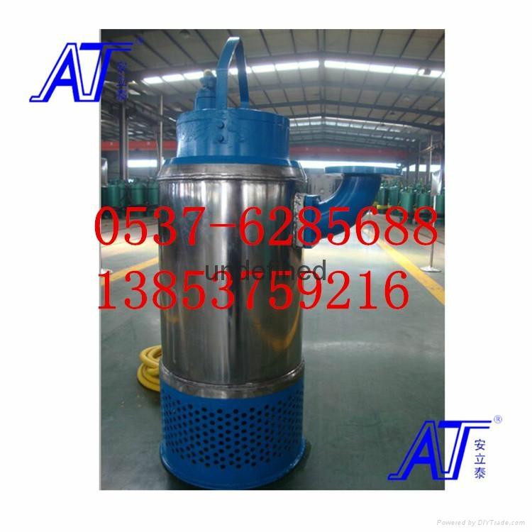 WQ立式防爆排污泵 4