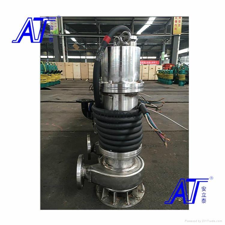 不锈钢防爆潜污泵性能稳定运行平稳 2