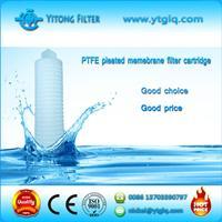 PTFE Pleated Membrane Filter Cartridge