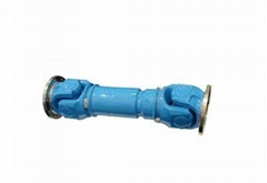 Universal joint cardan shaft for industrial machinery
