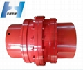 Flexible Drum Curved Tooth Gear Coupling