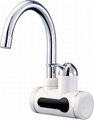 Instant electric water heater tap