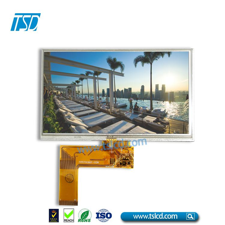 7.0'' TFT LCD with 4wires Resistive Touch Panel 1