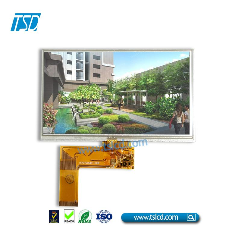 7.0'' TFT LCD with 4wires Resistive Touch Panel 2