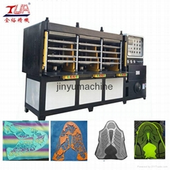 Safety Sensor Pressing Machine For Shoe Vamp