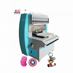 multicolor soft pvc rubber label making machine/Machinery