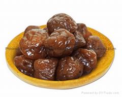 Preserved plum Honey flavor preserved plum