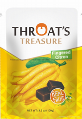 Preserved Buddha's hand preserved fingered citron green food snacks candy