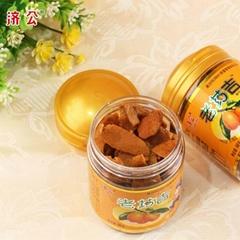 Preserved orange peel health snack food