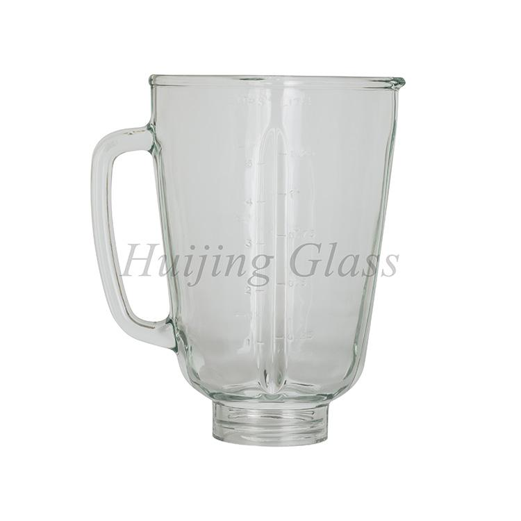 factory direct high quality replacement spare part glass blender jar 2