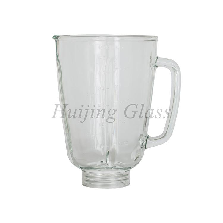 factory direct high quality replacement spare part glass blender jar 3