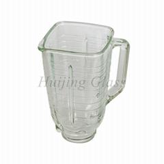 4655 1.25L blender replacement spare parts square glass jar vasos de vidrio