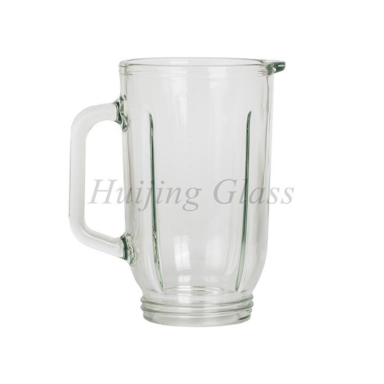 China factory hot sale custom blender part glass jar 5