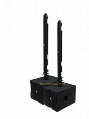 Modular line array Column speaker Actpro professional audio stage speaker Active