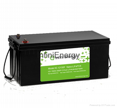 12V100Ah deep cycle lifepo4 battery